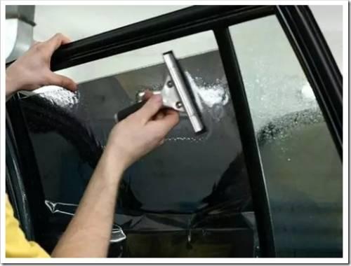 Что потребуется для тонирования стёкол?