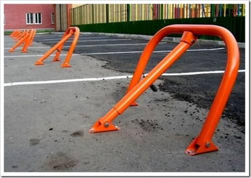 Виды парковочных барьеров