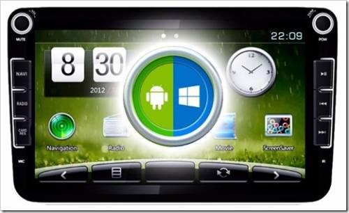 Магнитолы - Android или Windows.