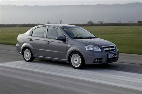 Chevrolet Aveo 2007: технические характеристики