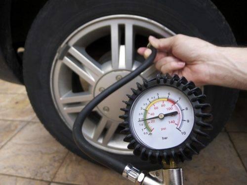Какое давление в зимних шинах R16
