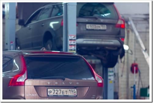 Замена масла в автомобилях Вольво