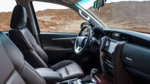 Toyota Fortuner 2017: технические характеристики