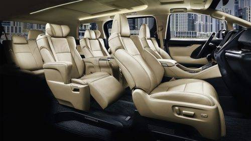 Тойота Alphard: технические характеристики