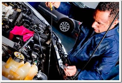 Классические позиции ТО для легкового автомобиля