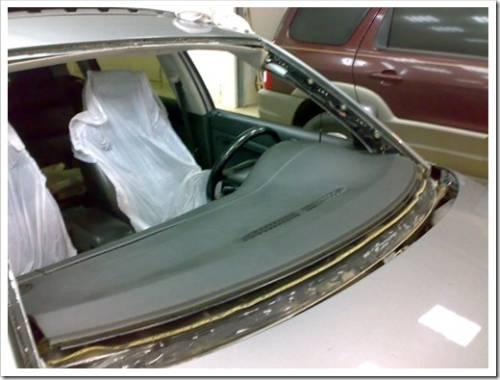 Предварительная подготовка автомобиля