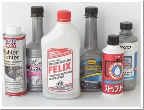 Правила применения герметика для радиатора