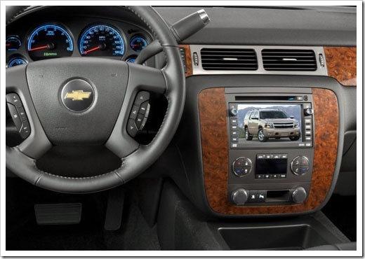 Штатная магнитола Chevrolet Tahoe