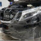 Технология оклейки автомобиля антигравийной пленкой Сантек