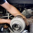 Как делается замена турбины на авто