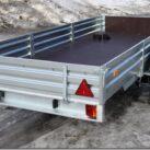 Как выбрать прицеп на авто для перевозки снегоходов и квадроциклов