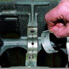 Коренные вкладыши коленвала - где находятся, как проверить и заменить